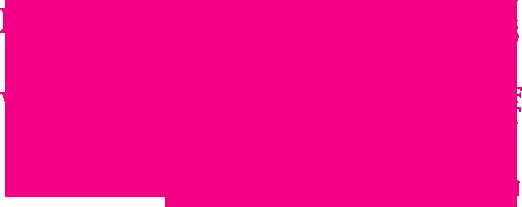 Group of pink logos