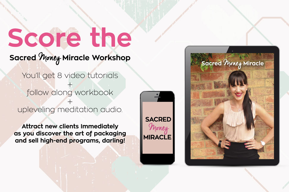 Score the Sacred Money Mircale Workshop