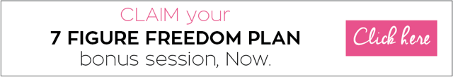 CLAIM your 7 Figure Freedom Plan